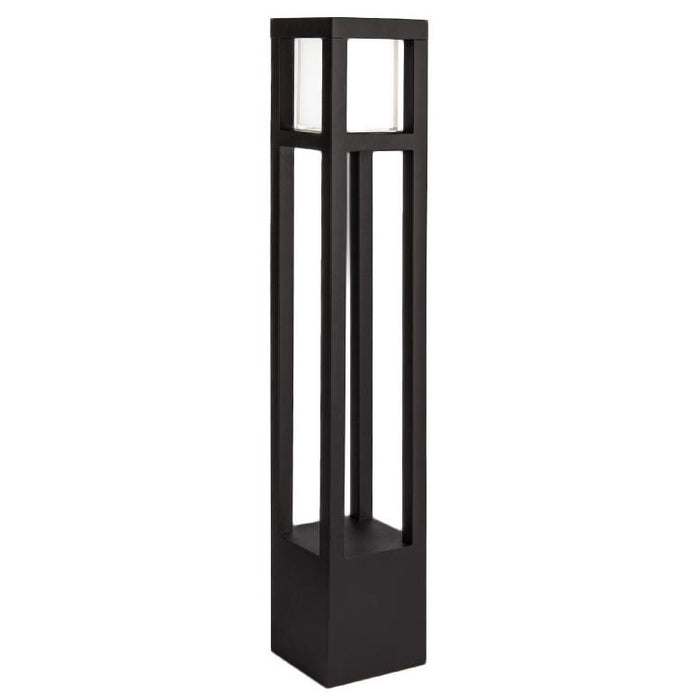 Tower LED Bollard Light - Black Finish