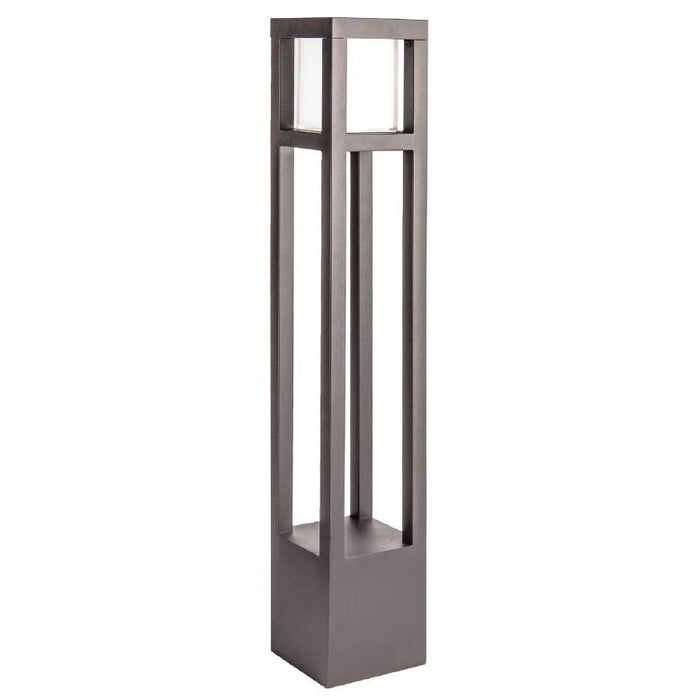 Tower LED Bollard Light - Bronze Finish