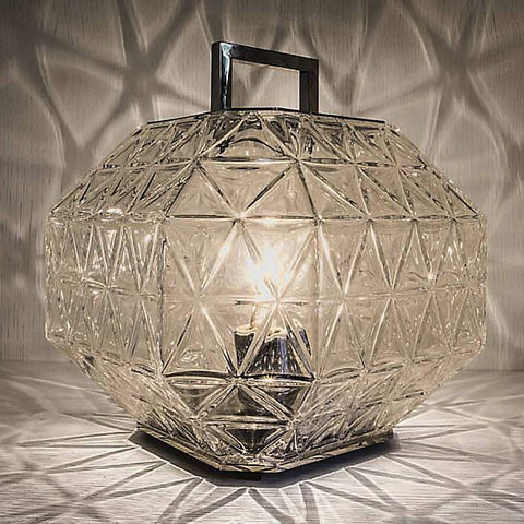 Treasure Table Lamp - Clear