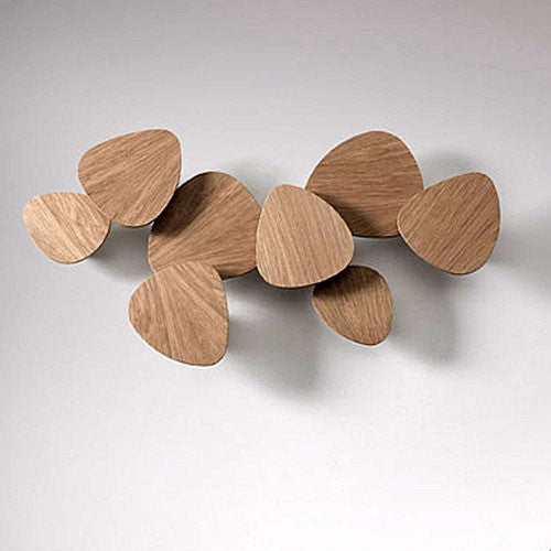 Tria Set of 8 Wall Light - Oak