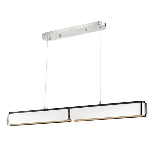 Tribeca Linear Pendant - Polished Nickel Finish