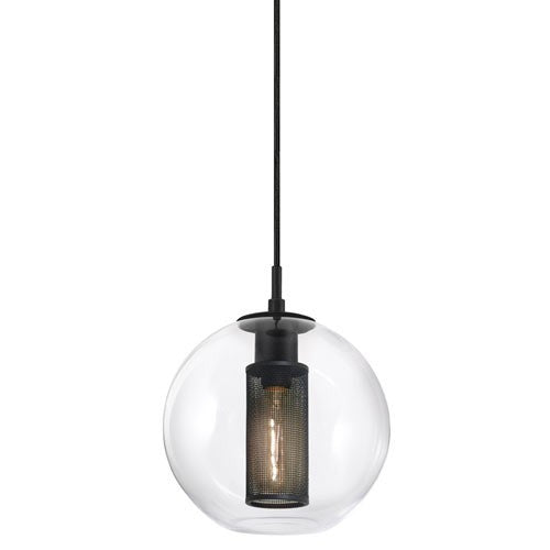 "Tribeca 10"" Pendant Light - Textured Black"