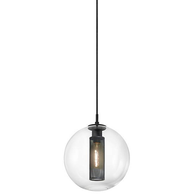 "Tribeca 12"" Pendant Light - Textured Black"