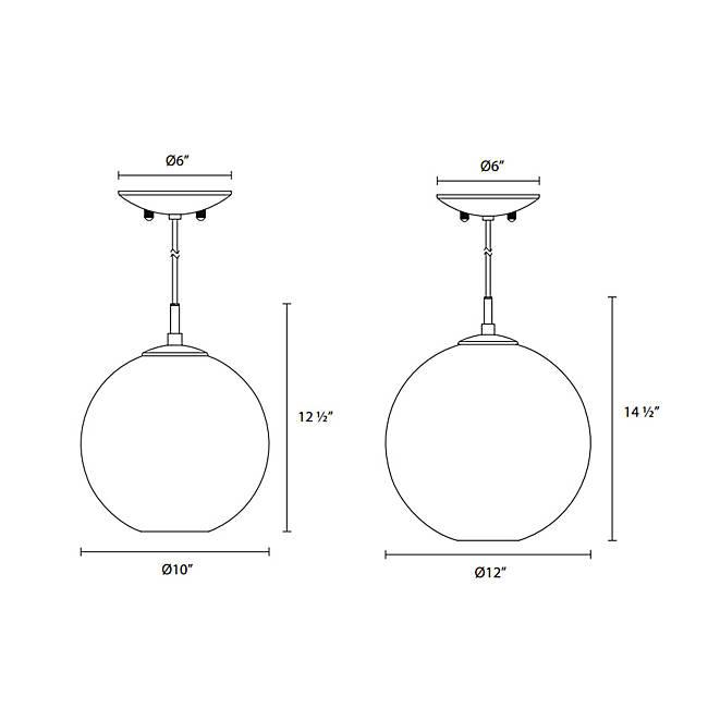 Tribeca Pendant Light - Diagram