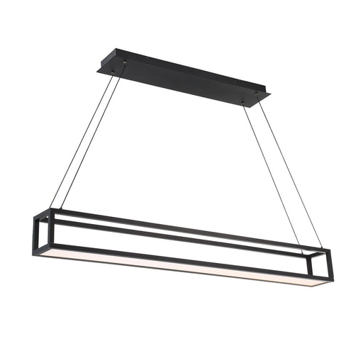 Trick Box Linear Pendant - Black