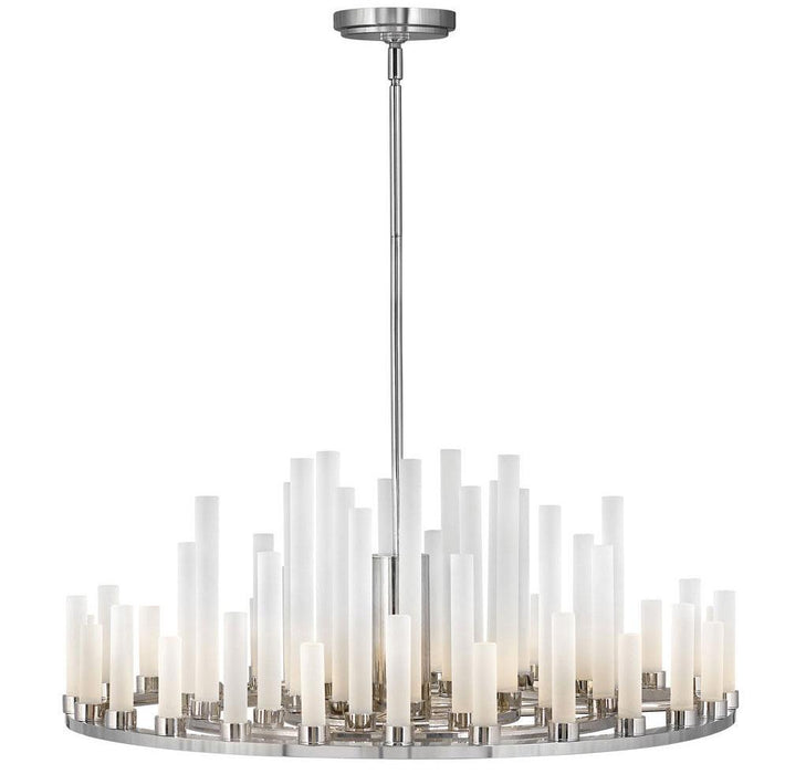 Trinity LED Chandelier - Polished Nickel Finish