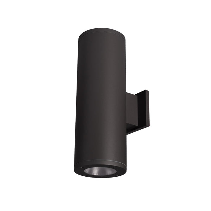 "Tube Architectural 6"" Double Wall Mount - Black Finish"