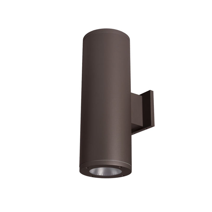 "Tube Architectural 6"" Double Wall Mount - Bronze Finish"