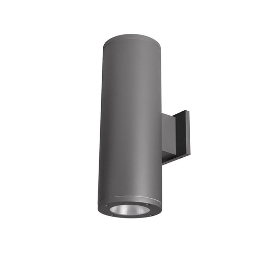 "Tube Architectural 6"" Double Wall Mount - Graphite Finish"