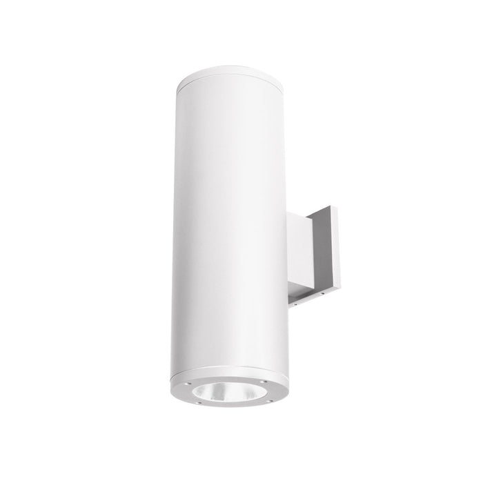 "Tube Architectural 6"" Double Wall Mount - White Finish"