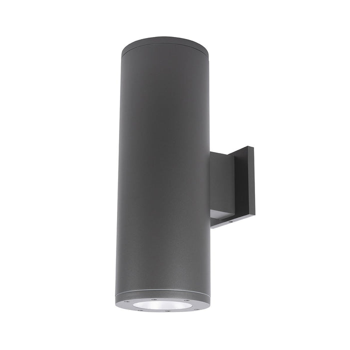 "Tube Architectural 8"" Double Wall Mount - Graphite Finish"