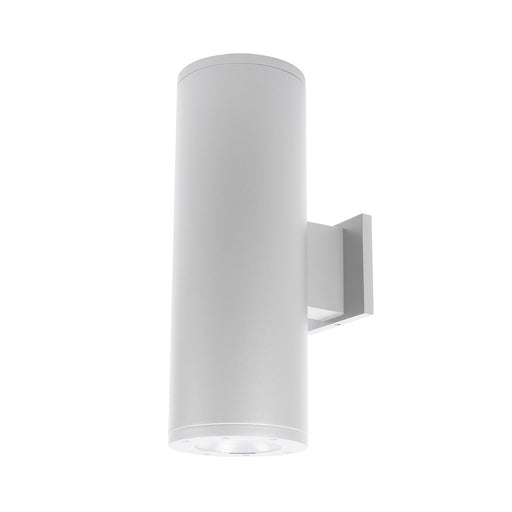 "Tube Architectural 8"" Double Wall Mount - White Finish"