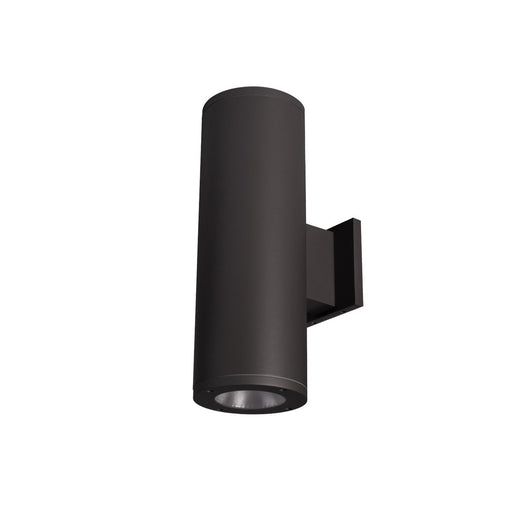 "Tube Architectural LED 5"" Double Wall Mount - Black Finish"