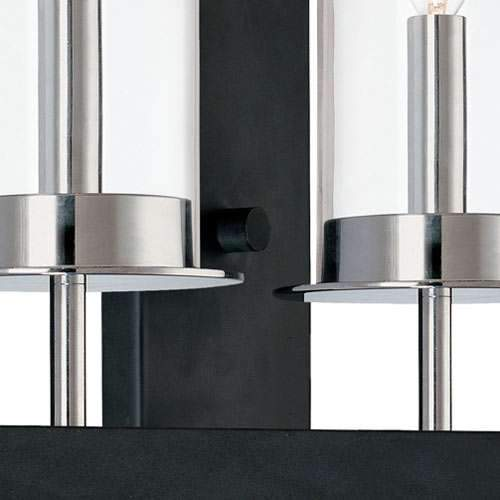 Tuxedo Double Wall Sconce - Detail