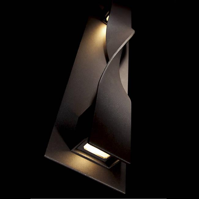 Twist Outdoor LED Wall Light - Detail