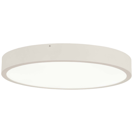 U.G.O. Small LED Flush Mount - Sand White Finish