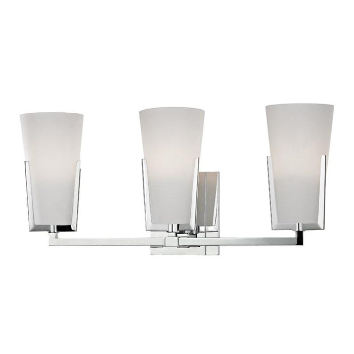 Upton 3 Light Bath - Polished Chrome Finish