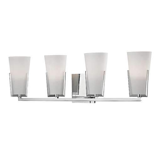 Upton 4 Light Bath - Polished Chrome Finish