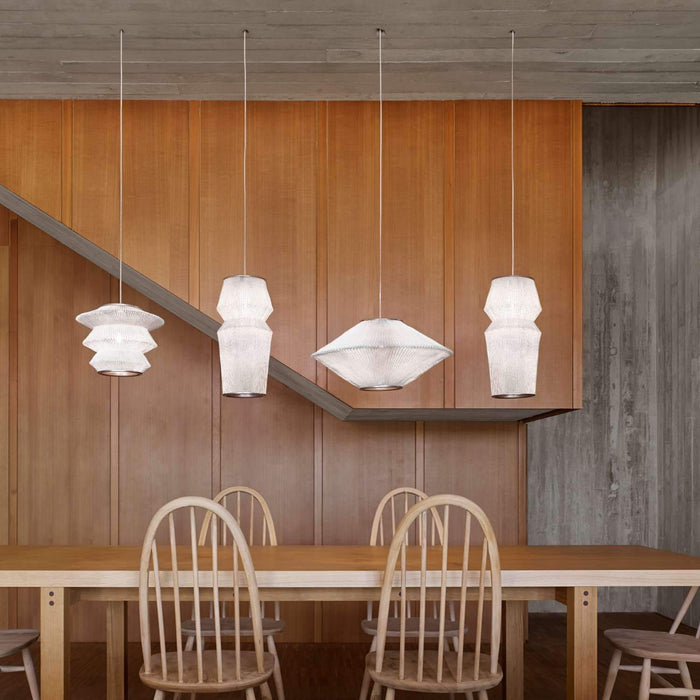Ura 3 Pendant Light Family - Display