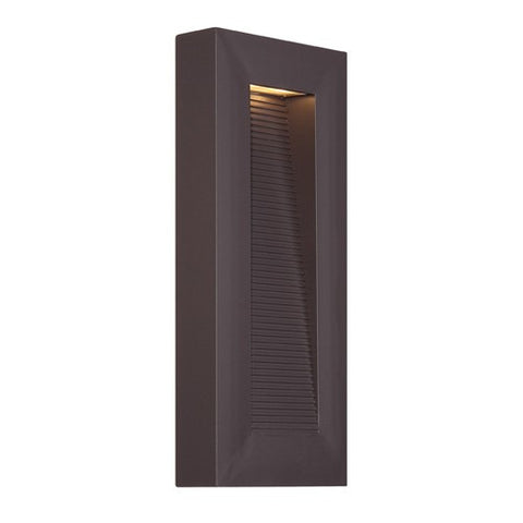 Urban Outdoor Wall Sconce - Bronze Finish