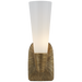 Utopia Small Single Bath Sconce - Antique Burnished Brass