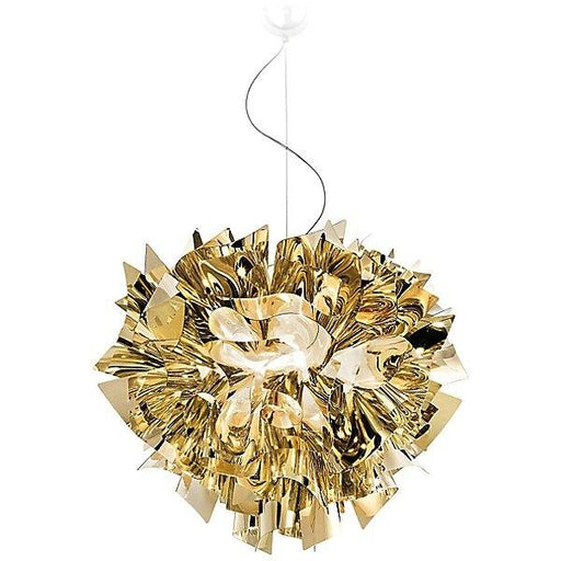 Veli Metallic Large Pendant - Gold Finish