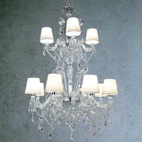 Venetian Miami 12 Arm Chandelier