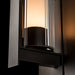 Vertical Bar Fluted Outdoor Wall Sconce - Detail