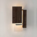 Vesper LED Sconce - Dark Satined Walnut Finish