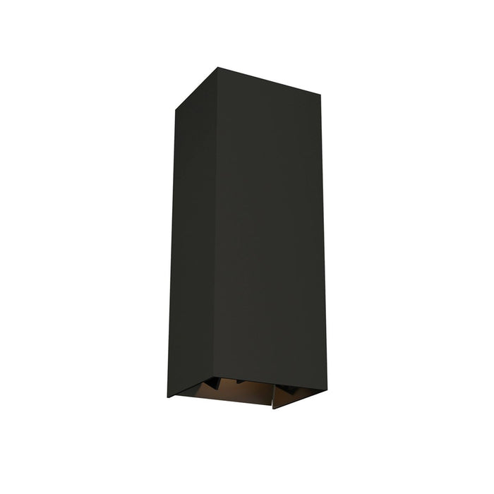 Vex Small LED Outdoor Wall Sconce - Black Finish