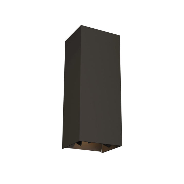 Vex Small LED Outdoor Wall Sconce - Bronze Finish