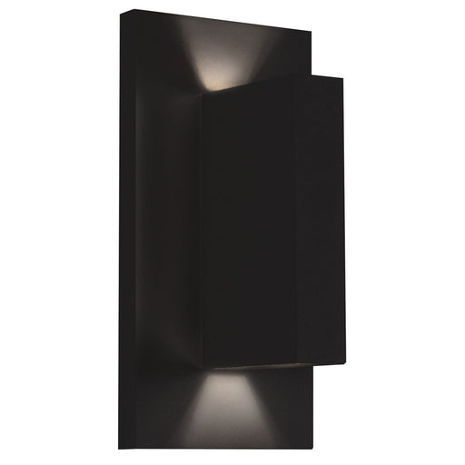 Vista LED Outdoor Wall Sconce - Black Finish