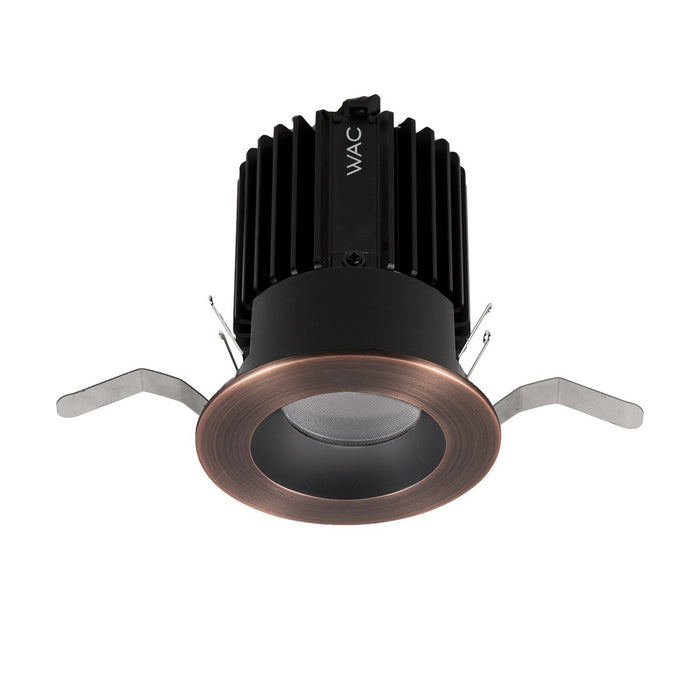 Volta 2″ Downlight Trim Round - Copper/Bronze Finish