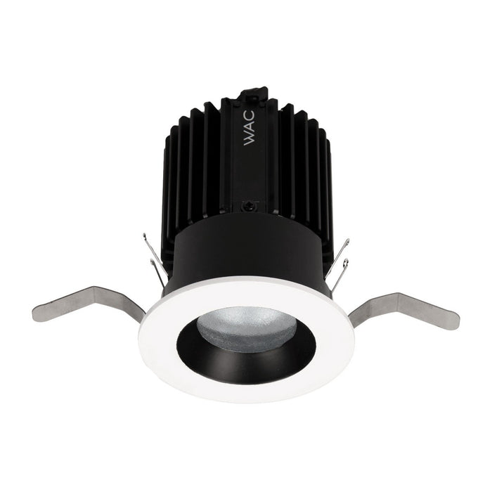 Volta 2″ Downlight Trim Round - Black/White Finish