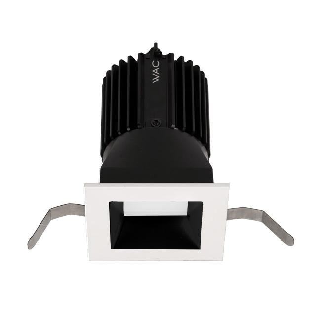 Volta 2″ Downlight Trim Square - Black/White Finish