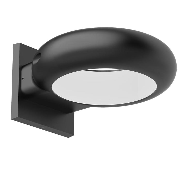 Vortex LED Outdoor Wall Sconce - Black Finish