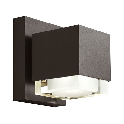 "Voto 8"" Outdoor LED Downlight Wall Sconce - Bronze Finish"