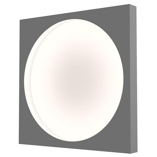 Vuoto Large LED Ceiling/Wall Light - Dove Gray Finish