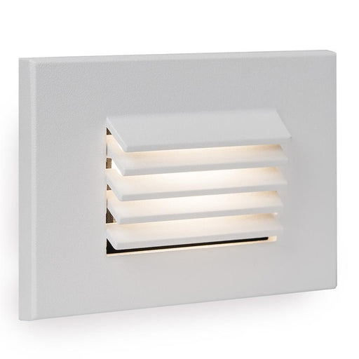 WL-LED120 Step Light - White Finish Amber Light