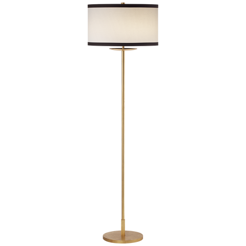 Walker Medium Floor Lamp Gild