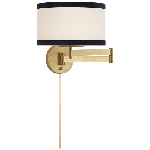 Walker Swing Arm Sconce Gild