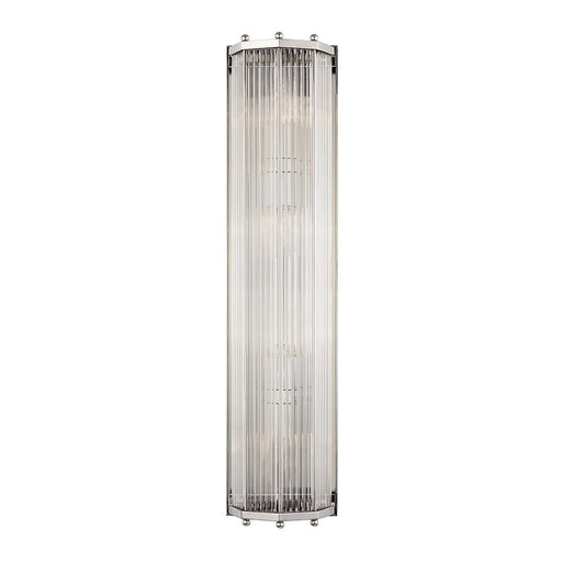 Wembley Large Wall Sconce - Polished Nickel