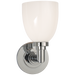 Wilton Single Bath Light Chrome