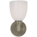 Wilton Single Bath Light Antique Nickel