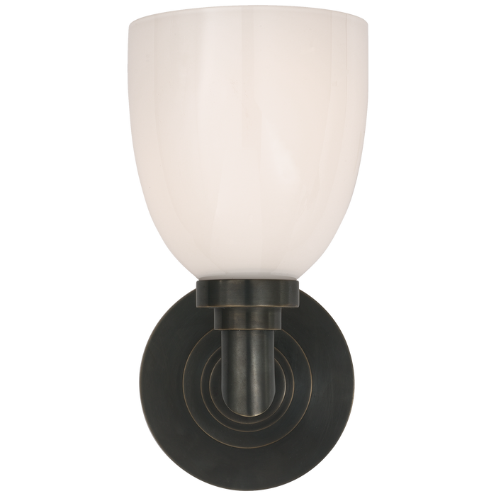 Wilton Single Bath Light Bronze