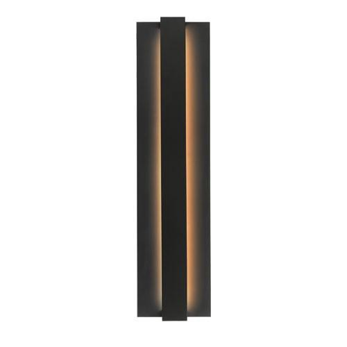 Windfall Outdoor Wall Light - Black Finish