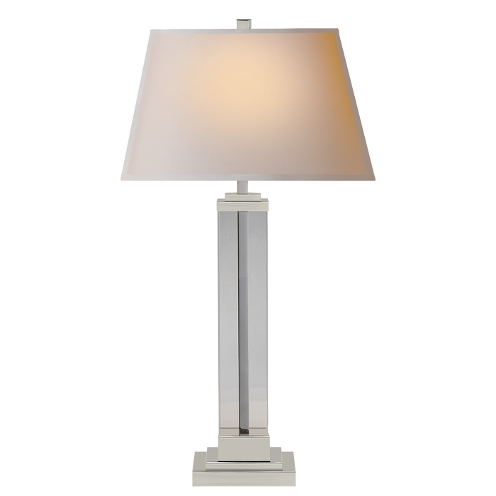 Wright Table Lamp - Polished Nickel Finish