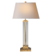 Wright Table Lamp - Gilded Iron Finish