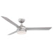 Xeno Indoor/Outdoor Ceiling Fan - Silver Finish