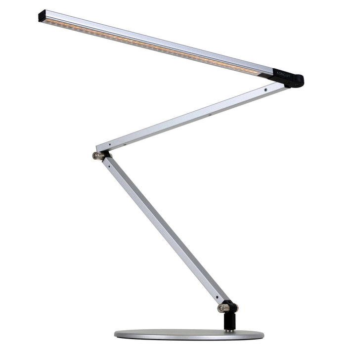 Z-Bar LED Desk Lamp - Silver Finish